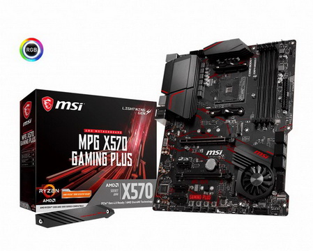MSI MPG X570 Gaming Plus Socket AM4 - MPG X570 GAMING PLUS
