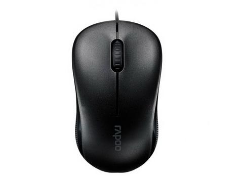 Мышь RAPOO N1130-Lite Black USB