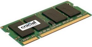 SO-DIMM 2GB/800 DDR2 Crucial (CT25664AC800.Y16F) Refurbished