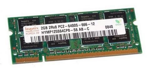 SO-DIMM 2GB/800 DDR2 Hynix original (HYMP125S64CP8-S6) Refurbished - HYMP125S64CP8-S6