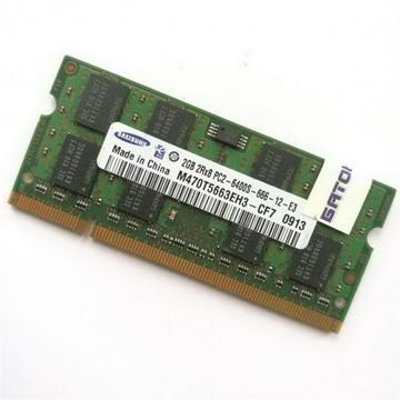 SO-DIMM 2GB/800 DDR2 Samsung (M470T5663EH3-CF7) Refurbished