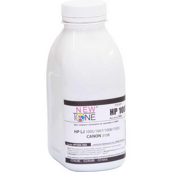 Tонер NewTone (HP1005-N85) HP LJ P1005/1006/1505 Black 85г