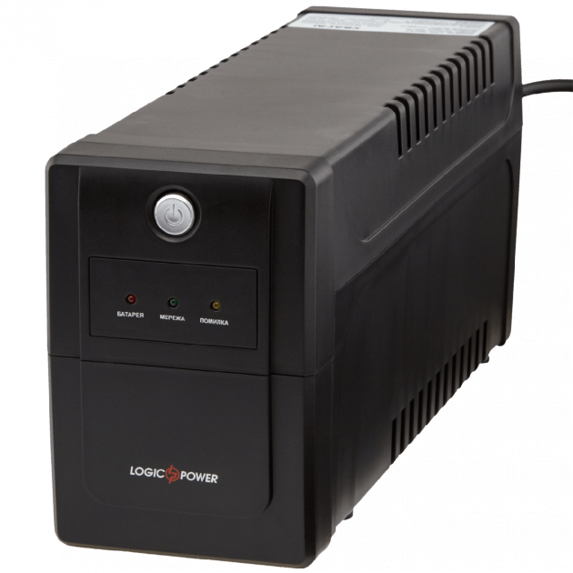 ИБП LogicPower LPM-700VA-P (490Вт), Б/у (новий акумулятор, гарантія)