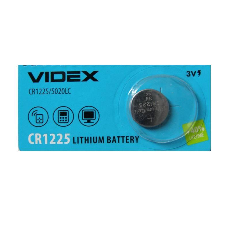 Батарейка щелочная VIDEX CR1225